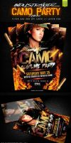 CAMO PARTY PSD FLYER by Industrykidz