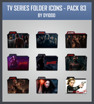 TV Series Folder Icons - Pack 83 by DYIDDO