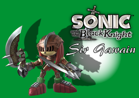 Sonic and the Black Knight - Sir Gawain by BingotheCat