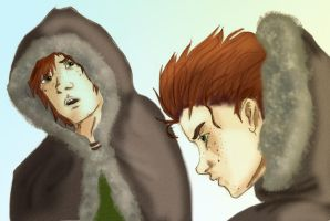 AK's Wintry Hiccup - Colored by ch4rms