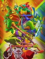 Teenage Mutant Ninja Turtles 30th Anniversary by eldeivi