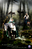 Lord and Lady of the Green Woods by LilipilySpirit