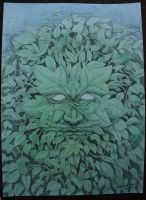 green man by cheesefreeak