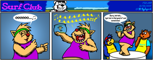 The Surf Club Comic 288 by BluebottleFlyer