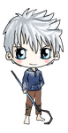 Jack Frost Chibi by IcyPanther1