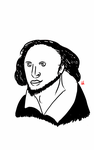 William Shakespeare by Megalomaniacaly