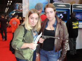 Fem! Winchester Brothers at NYC Comic Con 2013 by FUBARProductions