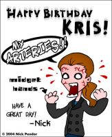 Happy B-Day Kris... by nickowolf
