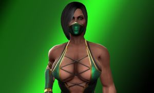 Mortal Kombat: Jade by winchester01