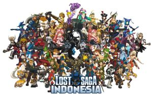 Lost Saga Wallpaper Indonesia by weejelek