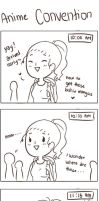 Adventures in an anime convention part 1 by CamiIIe