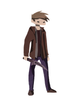 Dean Winchester - Purgatory by richard-speight-jr