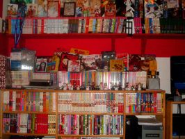 My Old Manga Collection by Yaehara