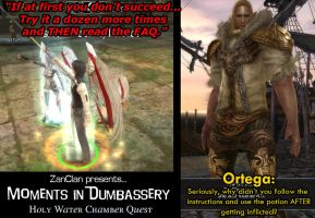 Moments Of Dumbassery  The HolyWater Chamber Quest by Frigidchick