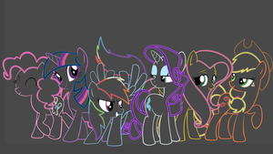 mlp: together by Mangamaster247