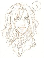 Happy Lestat Lineart by Lapis-Razuri