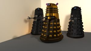 Planet of the Daleks - 2 by DarkravenProductions