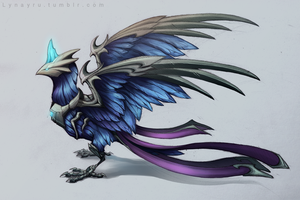 Anivia by Lynayru