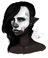 Unknown (Drawing) by LittleArtDemon