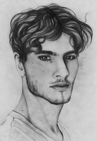 Handsome tumblr dude by ThestralWizard