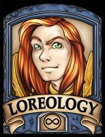 BC2014 Badge Loreology by Noxychu