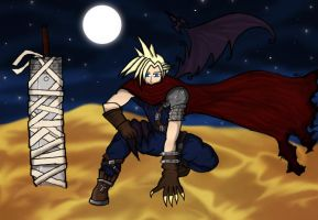 KH Cloud Colored version one by meltyzombie