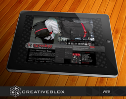Spyder Gear Web Design by creativeblox
