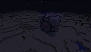 Companion Cube in Minecraft by profil10