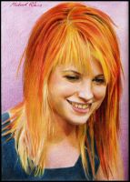 Hayley Williams by MikeRobinsArt