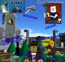 Blockland Promotional Poster by Ilive2seedafuture