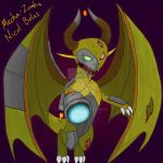 Chibi Mecha-Zombie Nicol Bolas by Dark-and-One-Other