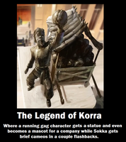 The Legend of Korra Demotivational Poster by Permafry42