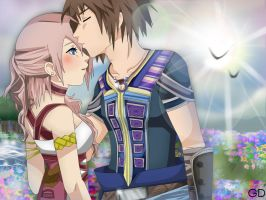 Re: Serah x Noel by GummyDrive