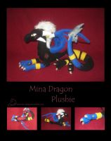 Mina Dragon Plush by Samurai-Akita