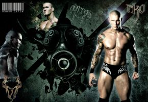 WWE...Randy Orton Gas Mask by Gogeta126