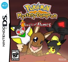 Pokemon mystery dungeon: Souls Of Flames for DS by Chaos55t