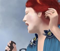 Florence Welch by Speedolimit