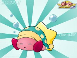 Kirby Sleep by Blopa1987
