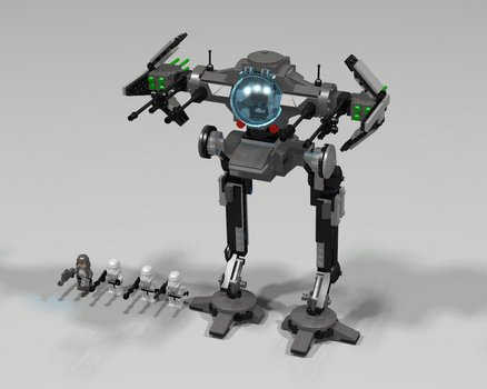 Lego Tie Walker Set by Jesse220