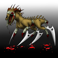Creature Drawing 80 by Arborix