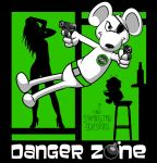 Danger Zone green by SwanStarDesigns