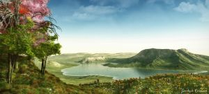 Lake Valley by biancomanto