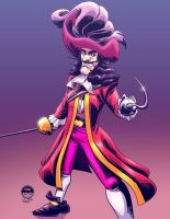 Captain Hook - EWG Christmas Commission by EryckWebbGraphics
