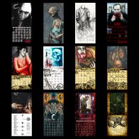 2013 Horror Calendar by DanHenk