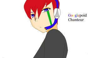 New UTAU- Googlepoid Chanteur by Grumpy-Catt