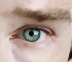 Benedict Cumberbatch: Eye by madaboutvampires