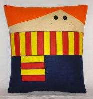 Handmade Harry Potter Ronald Weasley v1.43 Pillow by RbitencourtUSA
