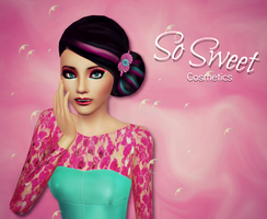 Candy Cosmetics Ad w/ sims 3 by sweetstop7