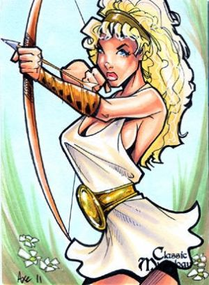 Artemis Sketch Card - Axebone