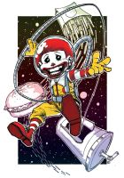 Ronald In Space by EricKenney